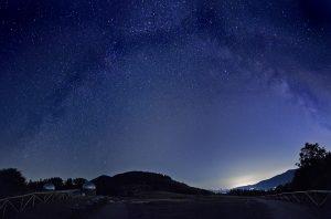L'Osservatorio astronomico visto dal Parco
